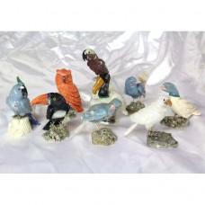 Vögel auf Stein 10cm